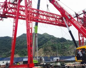 罗源湾安装大型龙门吊